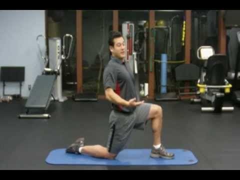 Stretch the Notoriously Tight Iliopsoas