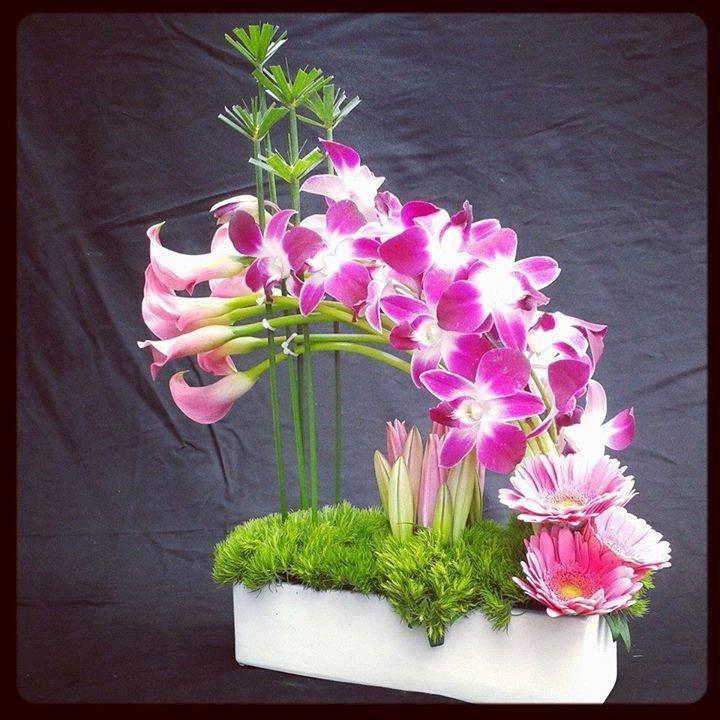 Um arranjo floral!....
