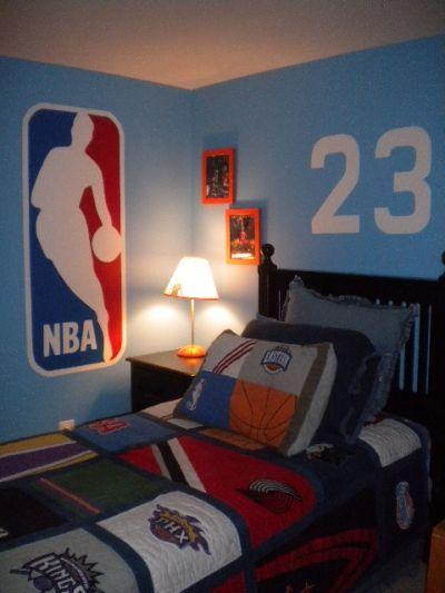 Boys Basketball Bedroom Ideas | room: Children's Room ...