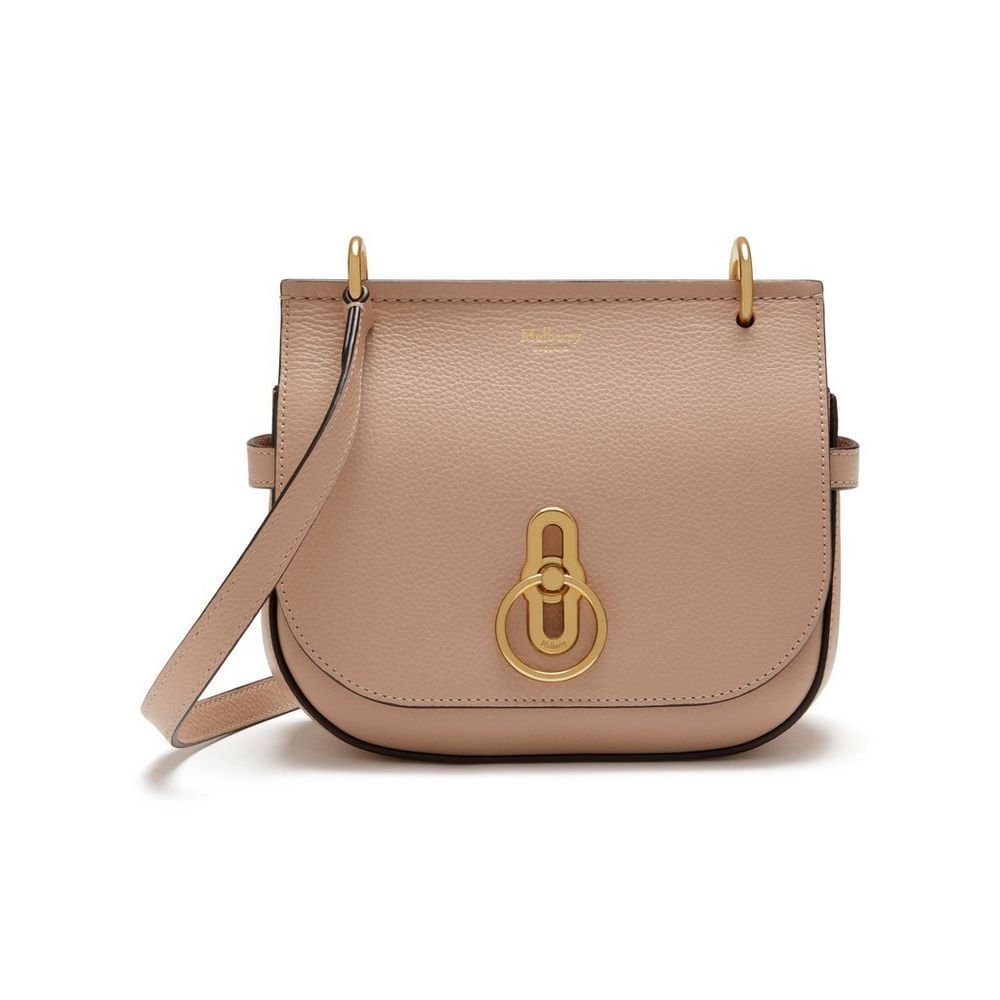 bea852e40c16 Shop the Small Amberley Satchel Bag in Rosewater Small Classic Grain Leather  at Mulberry.com. Inspired by British countryside pursuits