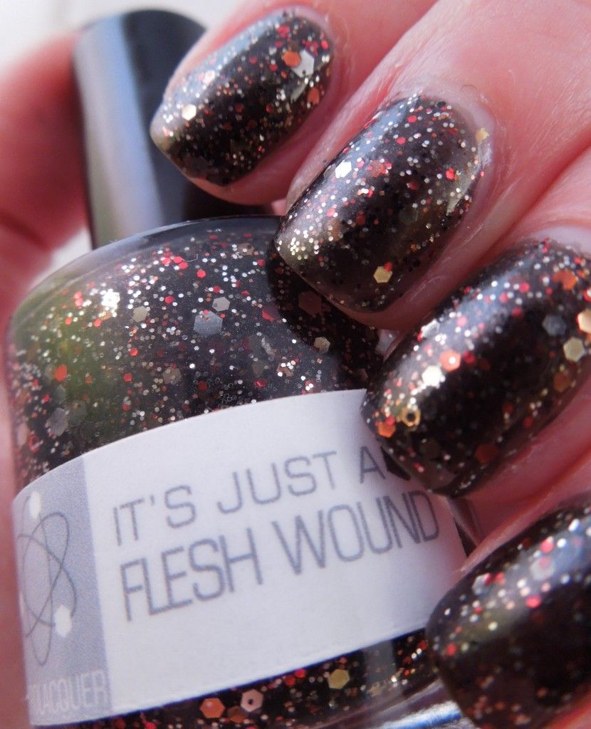 Nerd Lacquer- It\'s Just a Flesh Wound | My Polish Collection ...
