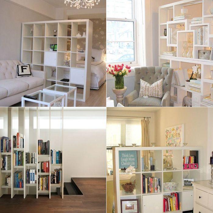 Jeito dividir ambiente 3 casa ideias quarto casal for Como dividir un ambiente
