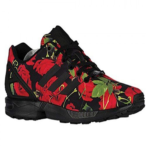 Expensive Adidas Originals Zx Flux Boys' Preschool Shoes Ruby Red/Black