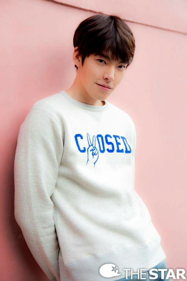 Kim woo bin, Bangs and Models on Pinterest  |Sung Joon And Kim Woo Bin
