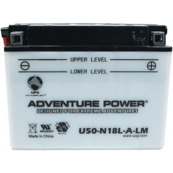 U50-N18L-A-LM, Conventional Power Sports Battery