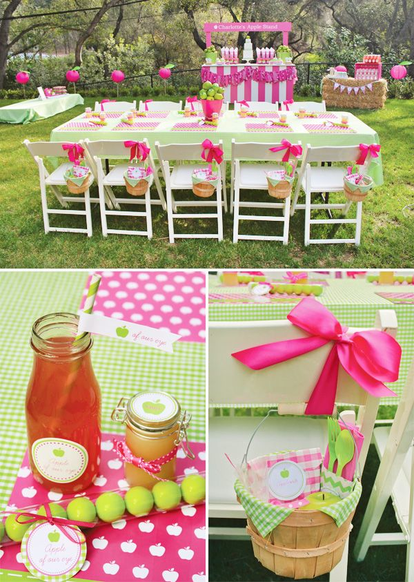 Party Table Setting Ideas table setting for tea party tea party table setting ideas indelink Apple Of Our Eye Apple Birthday Party Hostess With The Mostess