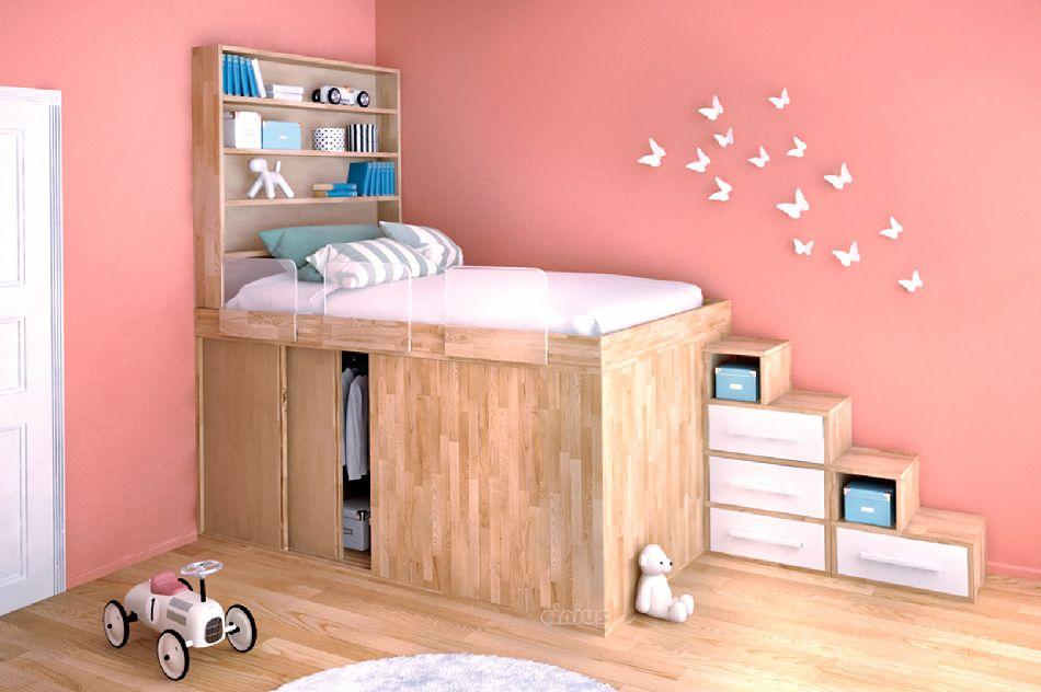 Letti Salvaspazio Ragazzi : Letto salvaspazio idee per ottimizzare lo spazio in camera tua