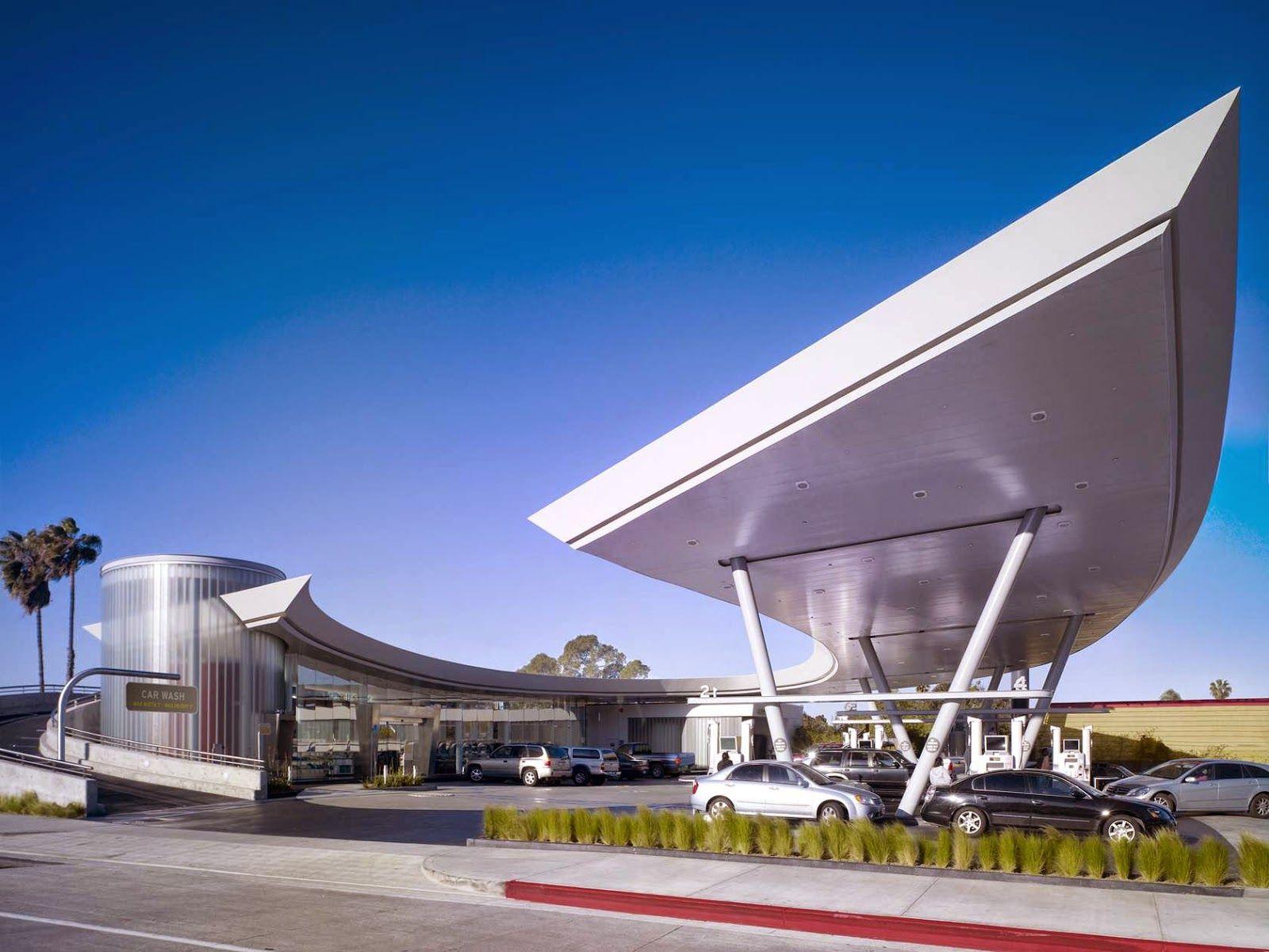 "United Oil Gasoline Station / Kanner Architect"" 27 Sep"