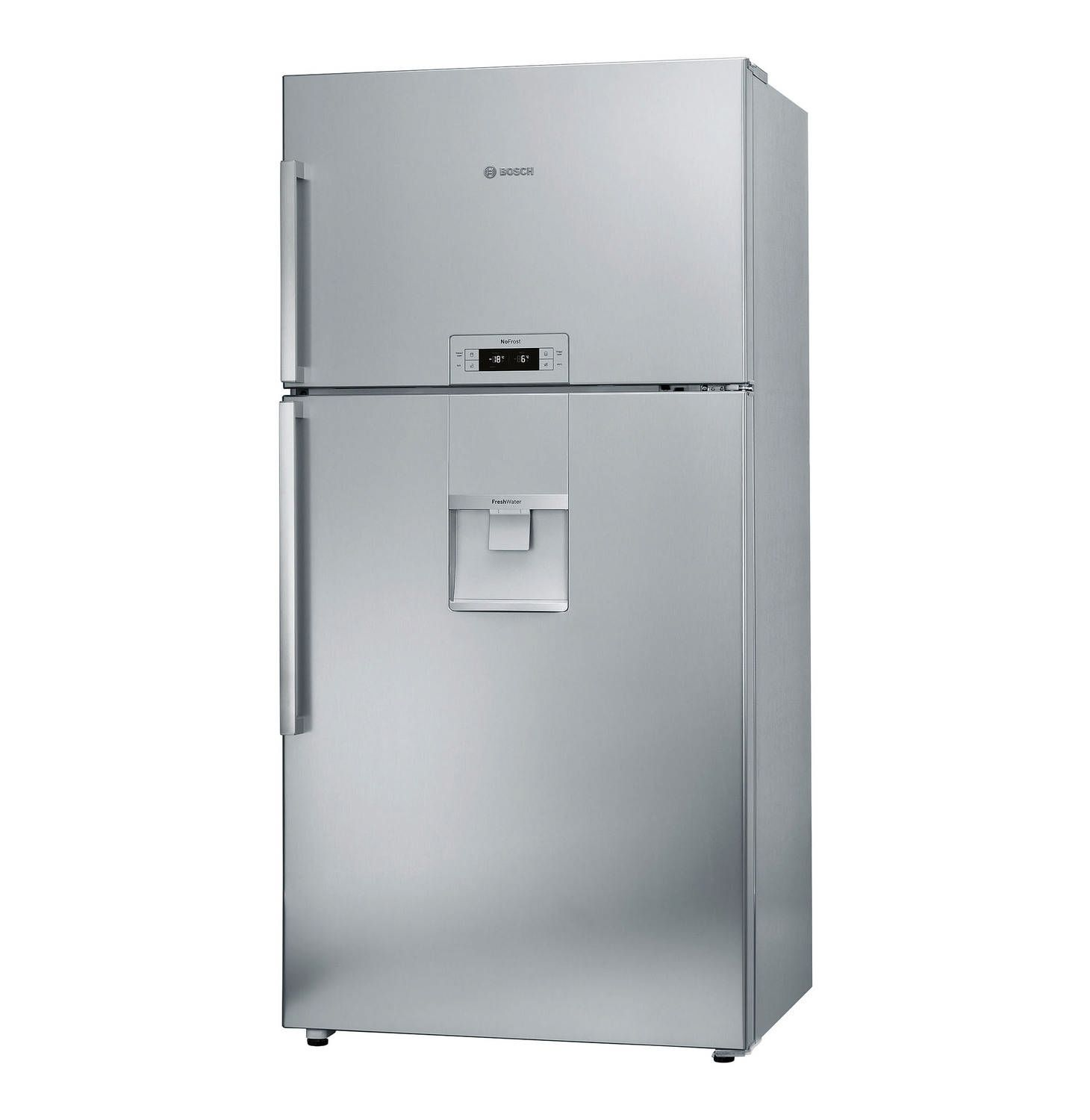 Bosch 558 L Combi Fridgefreezer With Water Dispenser Stainless Steel