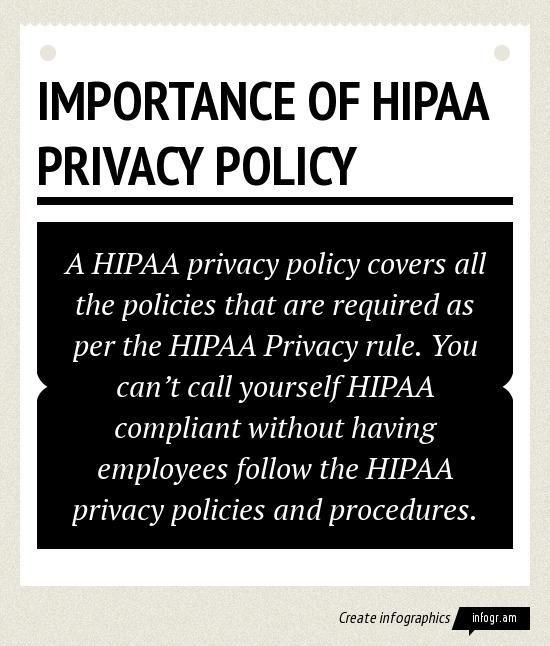 hippa privacy policy