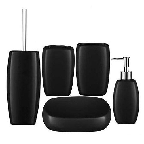 bathroom accessories - Black Bathroom Accessories Uk