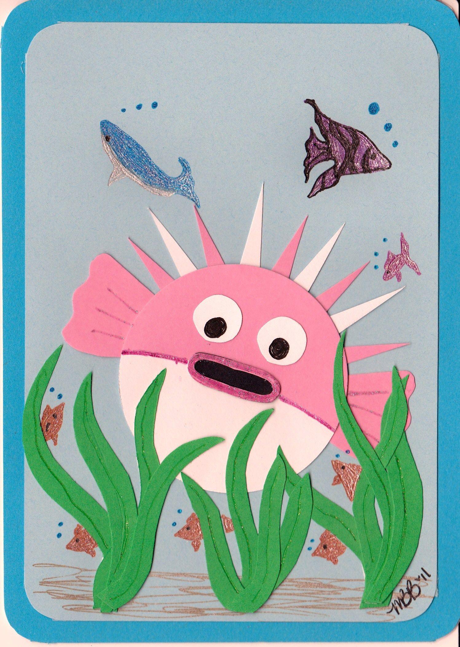 Paper Piece Puffer Fish