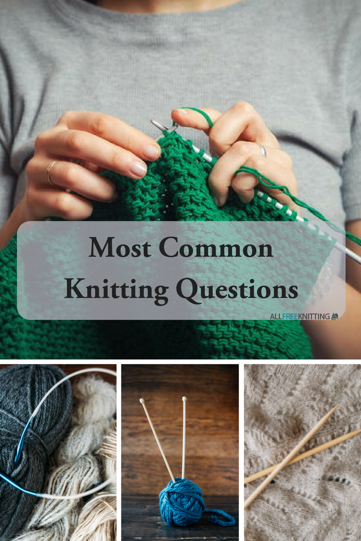 Knitting Questions Beginners