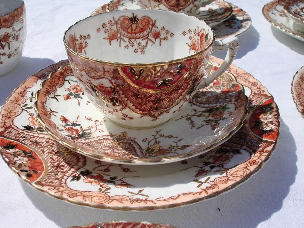 Beautiful Antique Imari Tea Set,Samuel Radford - c.1880, Early Samuel Radford in Pottery, Porcelain & Glass | eBay