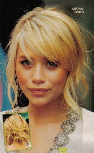 Ashley Olsen Photo Posted By Camomille79 Hair Styles Fringe Hairstyles Side Fringe Hairstyles