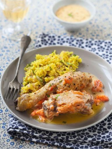 Poularde au champagne recipe cuisine francaise chicken food recipes - Cuisine au champagne ...
