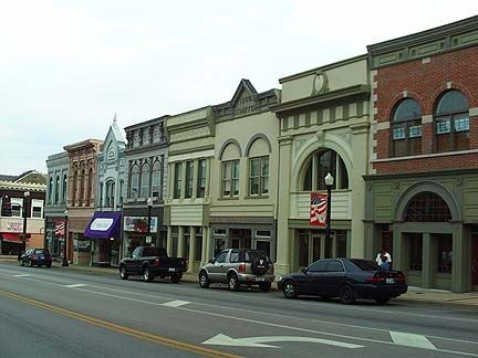 My adopted hometown: Main Street in Richmond KY by Lizette Fitzpatrick, www.lizette.us