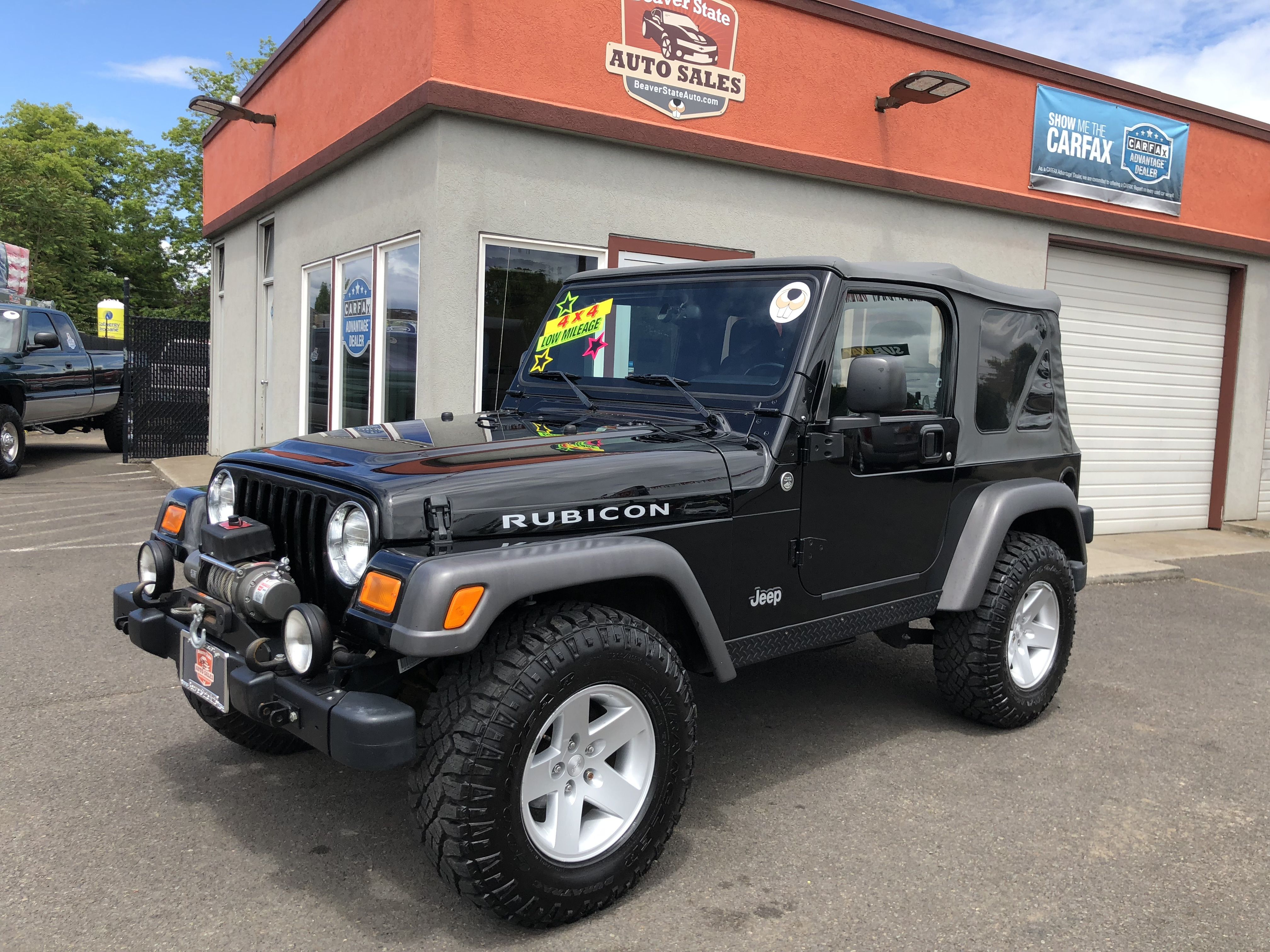 2005 Jeep Wrangler Rubicon 2005 Jeep Wrangler Jeep Wrangler