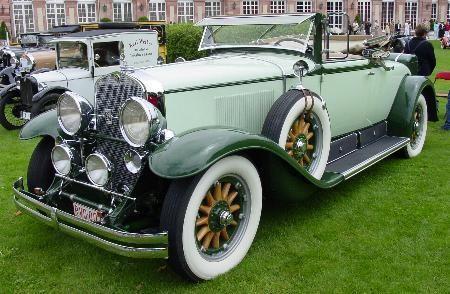 1928 Cadillac 7980 Fisher Convertible Coupé