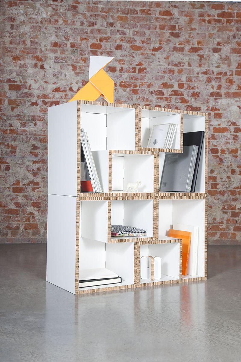 TETRA - Online store: www.cardboard.es #cardboard #furniture #eco ...