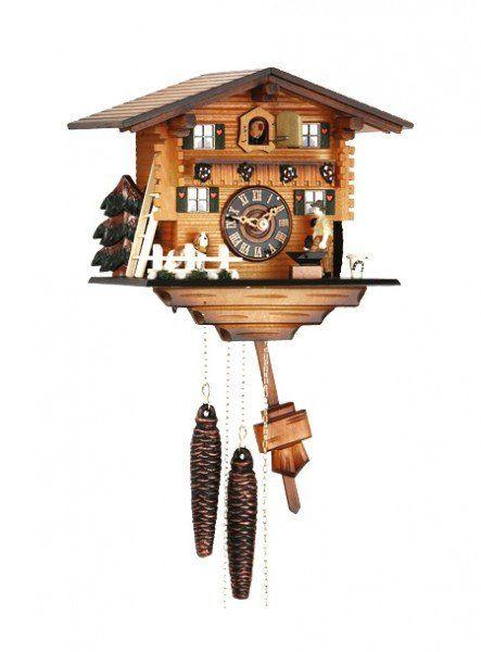 8386 Jumping Deer Cuckoo Clock Relojes De Pared Reloj De Cuco