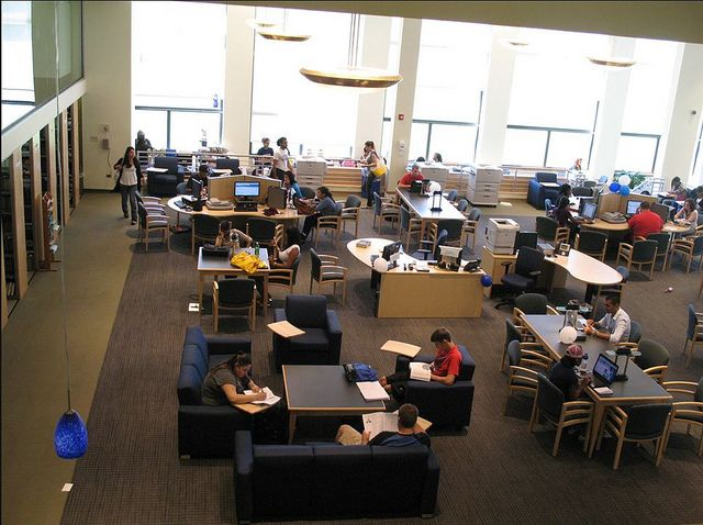 Mercy College Dobbs Ferry Library Design College Library Colleges And Universities