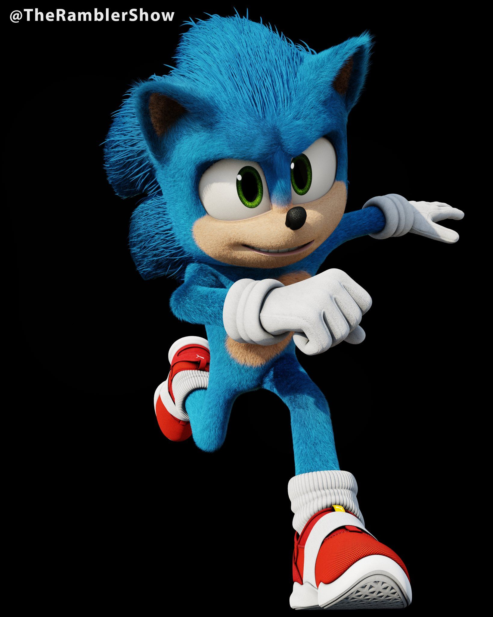 Theramblershow On Twitter Hedgehog Movie Sonic Funny Sonic The Movie