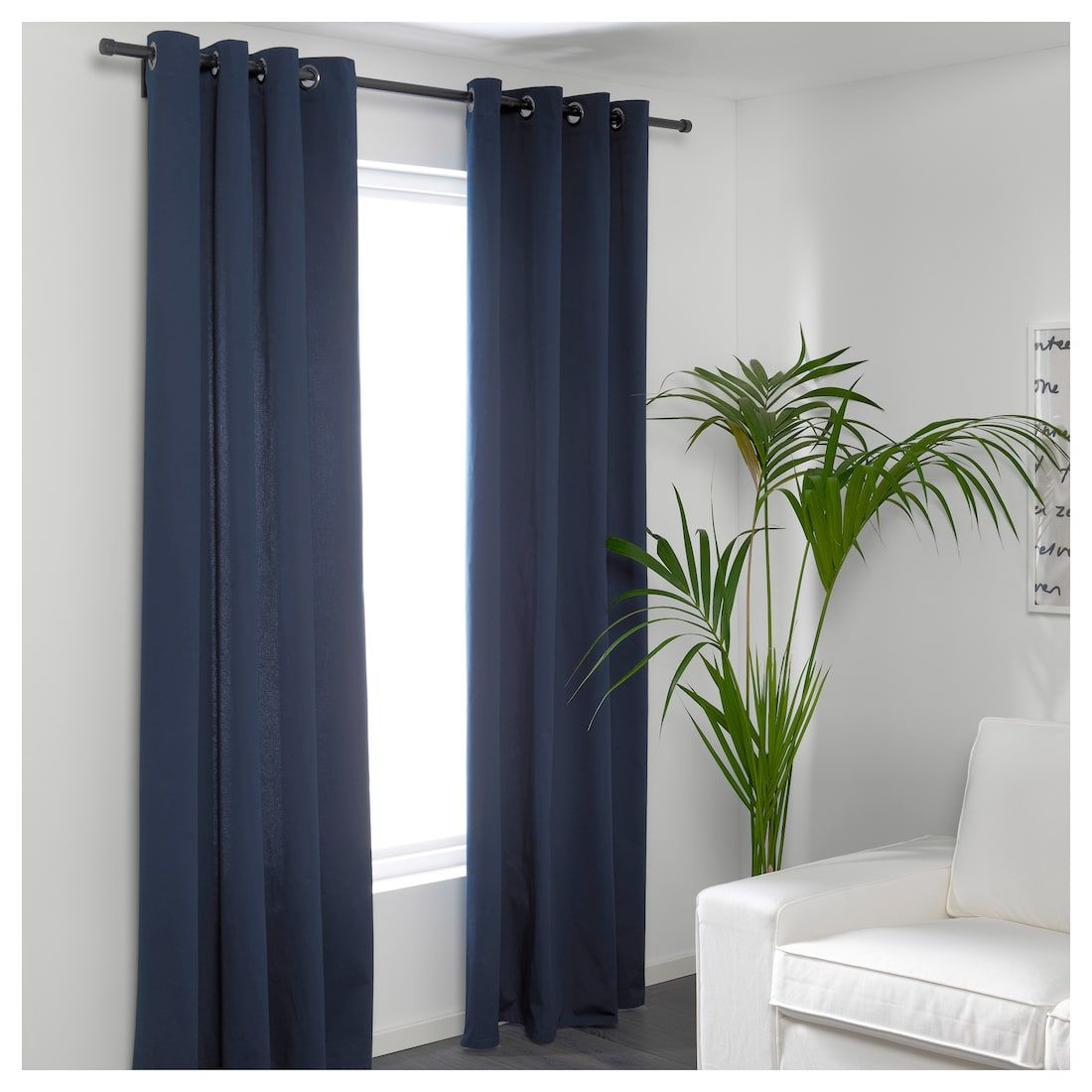 Us Furniture And Home Furnishings Blue Curtains Living Room Living Room Decor Curtains Curtains Living Room