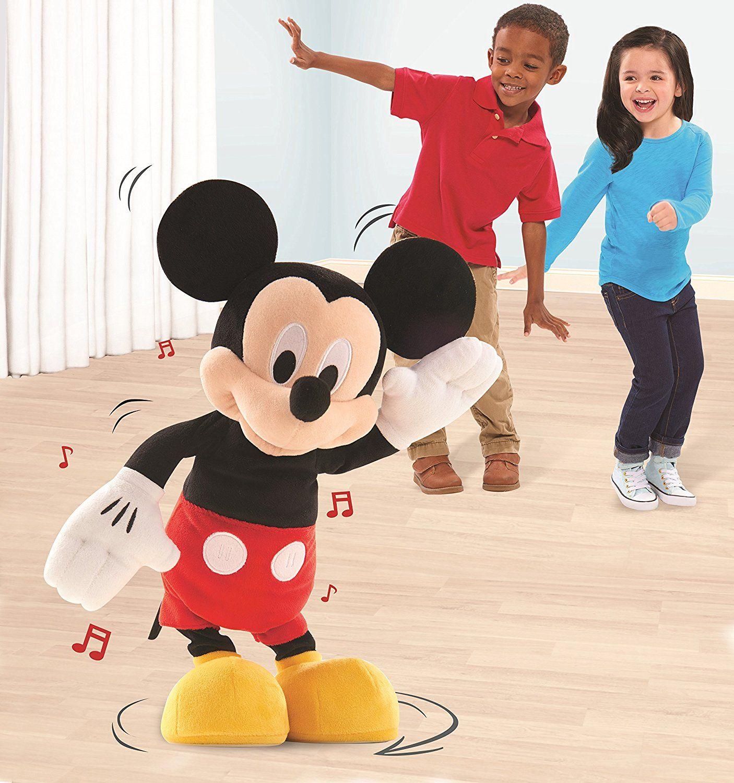 Hot Diggity Dancing Mickey Plush Toy Box News Disney Mickey