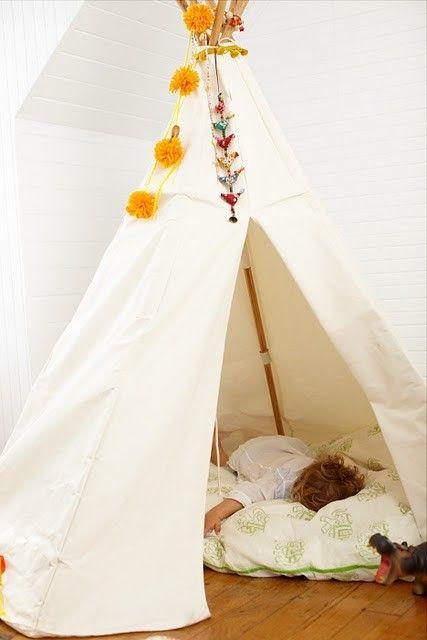 canvas style: a little summer hideout