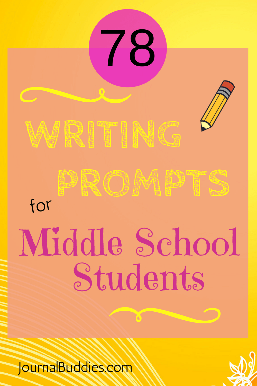 Writing Prompts/Journal Topics - CanTeach
