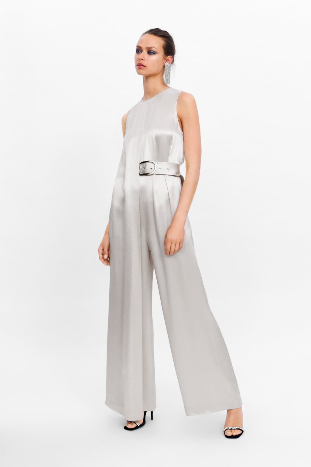 2f41a73d9c Limited edition long belted jumpsuit in 2019 | fashion | Jumpsuit ...