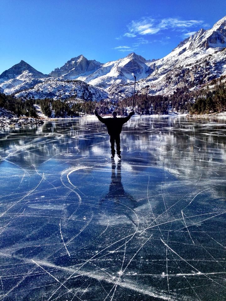 Pin By Whitney Taylor On Gonger Nation Outdoor Skating Backyard Hockey Rink Ice Hockey