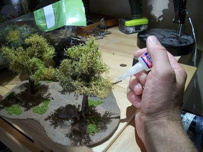 LEGIO XXVIII LILIPVTIA: Green Wargaming on a Budget: Making Trees