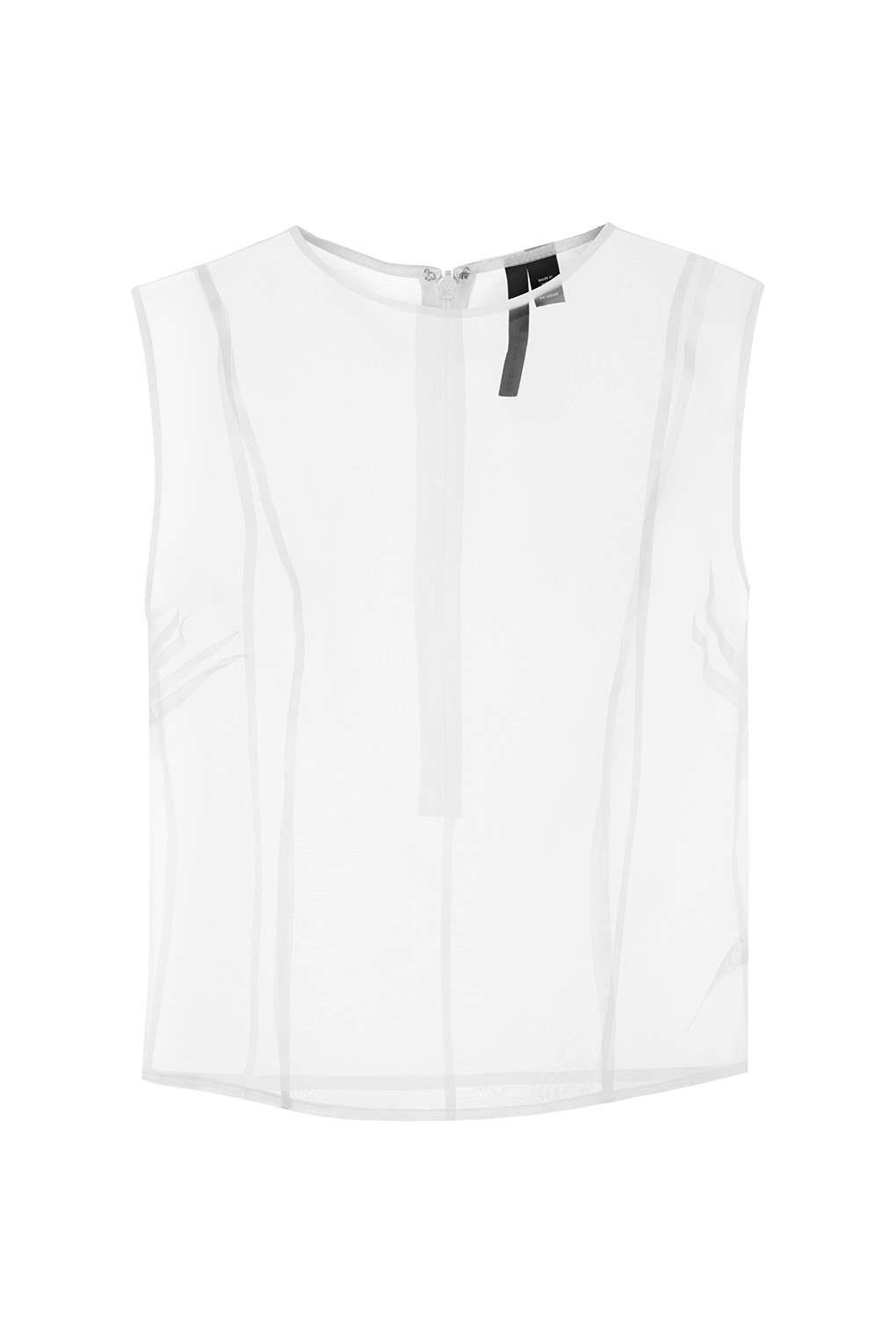 Sheer Silk Organza Overlay Top by Boutique   TOPSHOP saved by #ShoppingIS