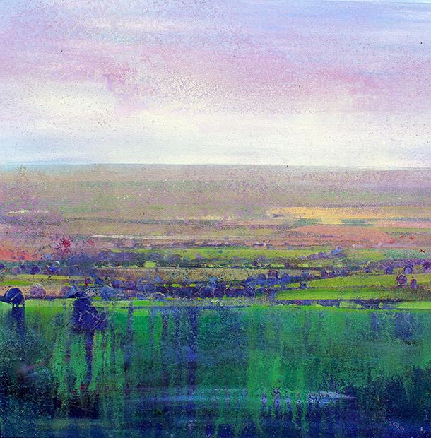 By Lorna Holdcraft -Ashdown Gallery, Forest Row. landscape painting