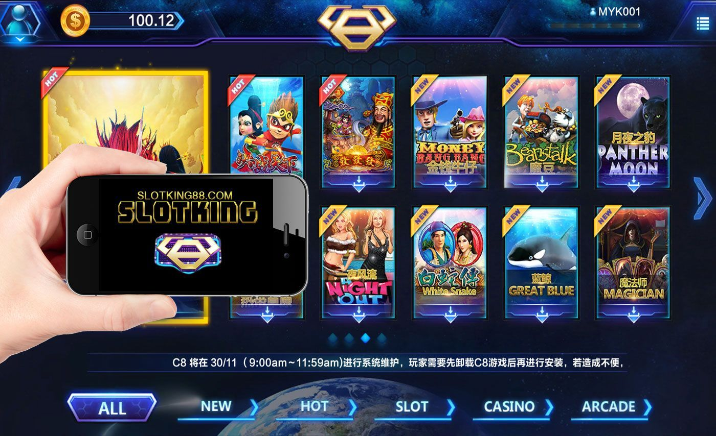 C8PLAY Free credit slot games give you a trial period before you decide to  deposit. To find the C8PLAY slot games on … | Play free slots, Slots games, Online  casino