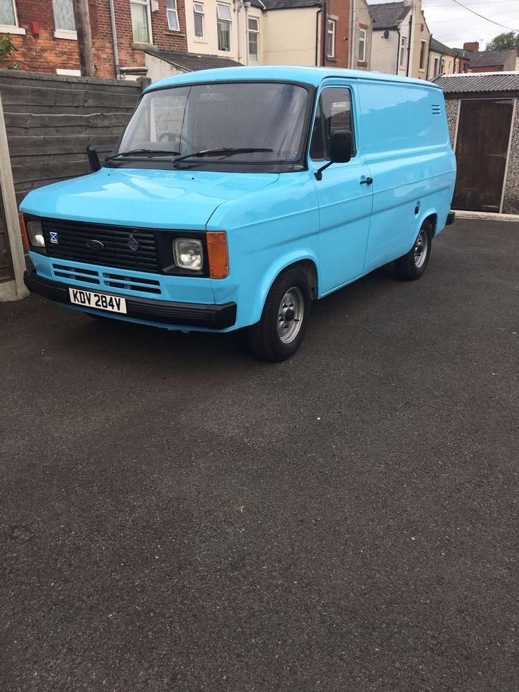 Ford Transit Van 1980 Mk2 Barn Find Classic Fully Restored Very
