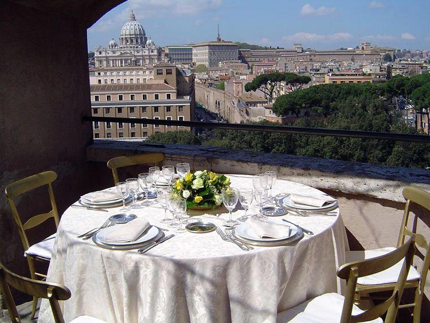 Caffetteria Ristorante Le Terrazze a Castel Sant\'Angelo - Roma ...