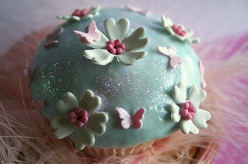 Fairy cake for little girls