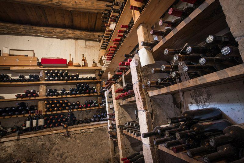 EcoTourism Hotel Facilities Crete: Enagron Ecotourism Village in Axos, Rethymno, Crete, Greece - wine cellar
