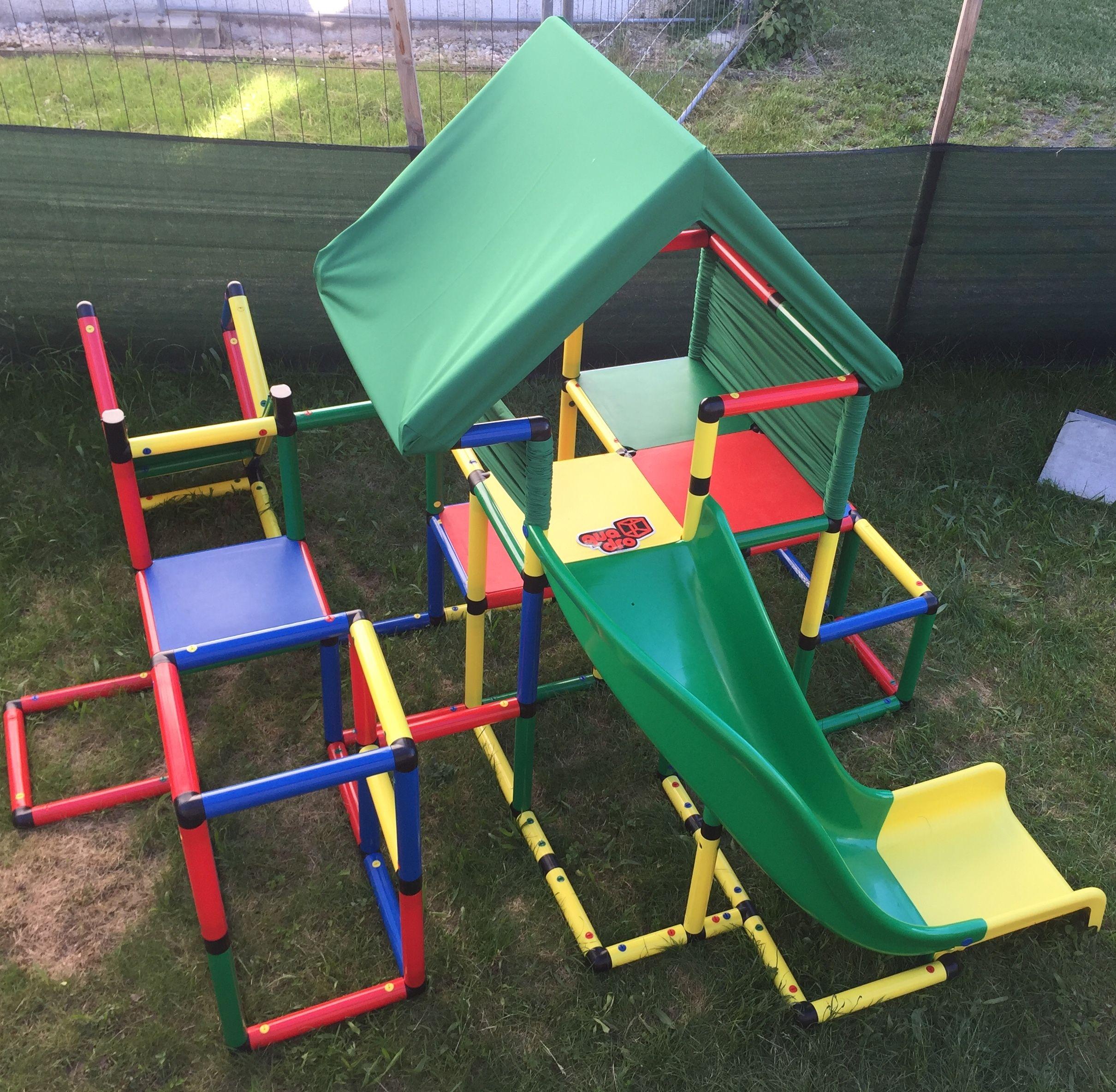 Quadro Quadro Klettergerust Klettergerust Spielturm
