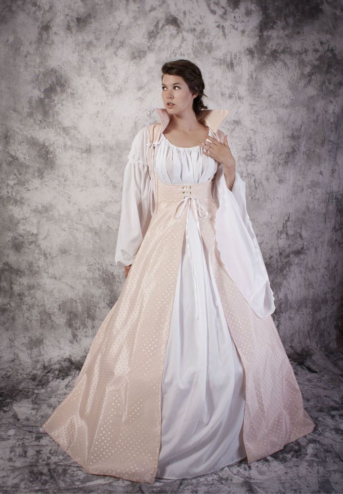 Faire Costume Like This Over Bodice With The Tall Collar