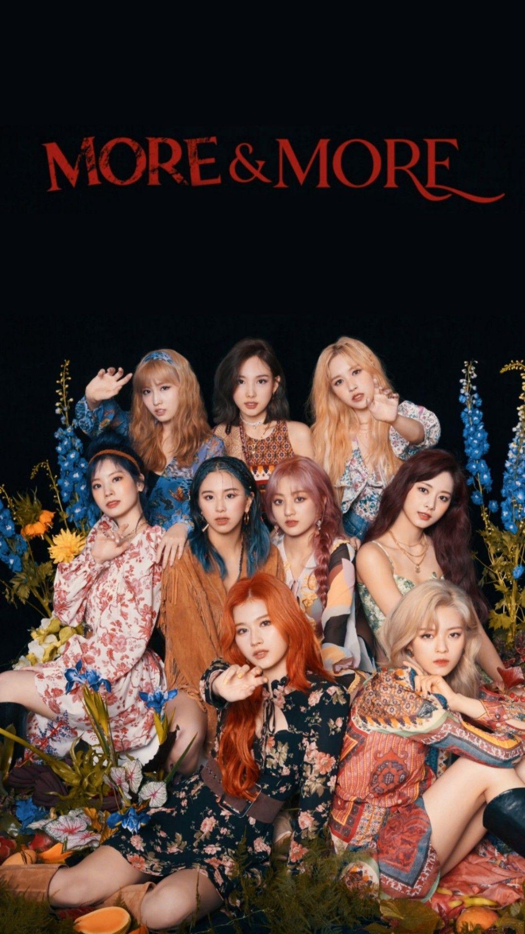 𝒂𝒏𝒂 More More Wallpapers Korean Girl Groups Kpop Girl Groups Twice