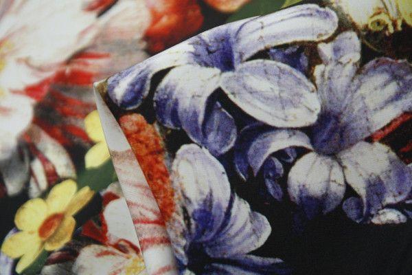 Someone's Night Garden - Silk - Tessuti Fabrics - Online Fabric Store - Cotton, Linen, Silk, Bridal & more
