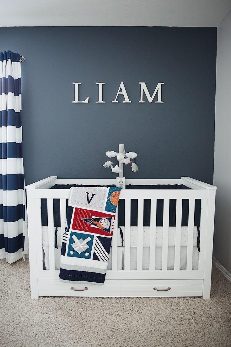 Liam's Baby Boy Nursery Reveal