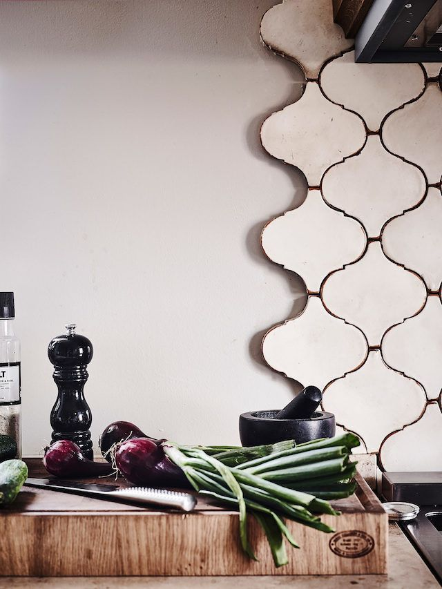Tiles in a Swedish home with lovely details / Entrance. | Kitchen ...