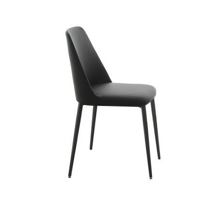 More About Italian Leather Dining Chairs Modern Black Dining