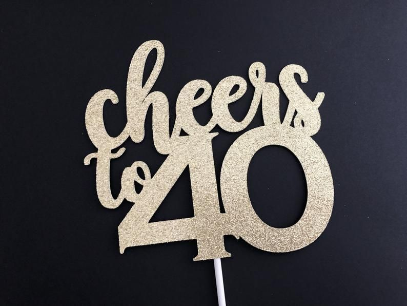 42+ 40th birthday cake toppers australia ideas in 2021