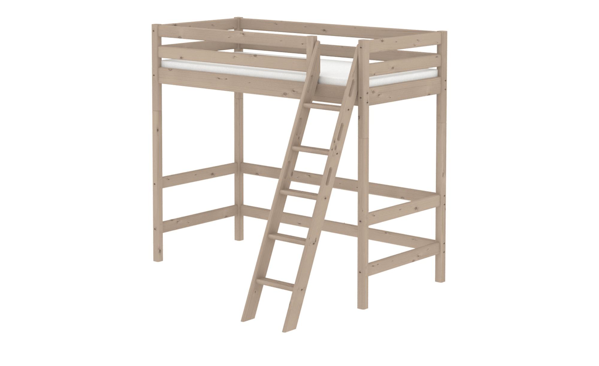 Flexa Hochbett 90x200 Holz Flexa Classic Toddler Furniture